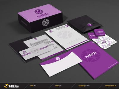 Thiết kế bộ nhận diện thương hiệu Công Ty Cổ Phần Phát Triễn NEO