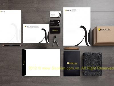 Thiết kế bộ nhận diện thương hiệu nội thất MOLUX